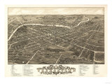 Youngstown  Ohio - Panoramic Map
