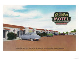Exterior View of Avalon Motel - Fresno  CA