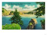 Deception Pass Bridge  Fidalgo and Whidby Islands - Deception Pass  WA