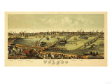 Toledo  Ohio - Panoramic Map