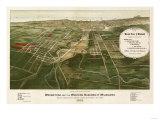Wauwatosa  Wisconsin - Panoramic Map