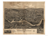 Watertown  Massachusetts - Panoramic Map