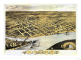 Wyandotte County  Kansas - Panoramic Map