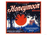 Honeymoon Orange Label - Claremont  CA