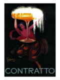 Contratto Vintage Poster - Europe
