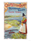 Great Western Railray Promo Tours to Wales from London - Wales  England