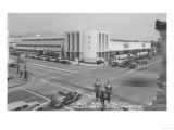 Hollywood  CA View of Radio City and NBC Studios Photograph - Hollywood  CA