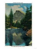 Half Dome from Sentinel Bridge - Yosemite  CA