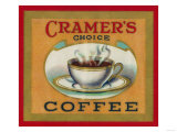 Cramer's Choice Coffee Label
