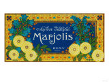 Marjolis Soap Label - Paris  France