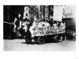 Labor Day Parade Float Photograph - New York  NY