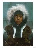 """Eskimo Boy named """"Menadelook"""" - Alaska"""