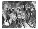 Gold Miners in South Africa Photograph - South Africa