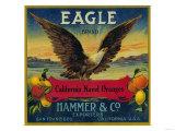 Eagle Orange Label - San Francisco  CA
