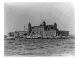 Immigrant Landing Station on Ellis Island Photograph - New York  NY