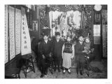 Five Boys at a New Year&#39;s Celebration in Chinatown NYC Photo - New York  NY