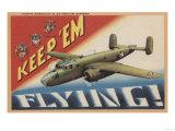 Keep 'Em Flying  B-25 Medium Bomber