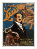 Laurant Magician  Illusionist  Entertainer Magic Poster