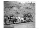 "Last Trip of the ""Deadwood Coach"" Photograph - Black Hills  SD"