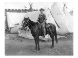 "Martha Canary ""Calamity Jane"" on Horseback Photograph"