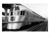 The Zepher - Stainless Steel Streamlined Train