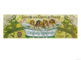 Savon Des Gentils Bebes Soap Label - Reims  France