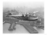 Pan American China Clipper and San Francisco Skyline Photograph No1 - San Francisco  CA
