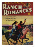 Ranch Romances Magazine Cover