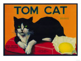 Tom Cat Lemon Label - Orosi  CA