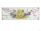 Savon Des Bebes Soap Label - Paris  France