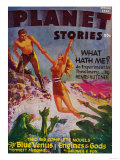 Planet Stories Magazine Cover