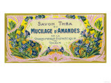 Mucilage D' Amandes Soap Label - Paris  France