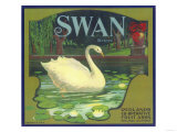 Swan Orange Label - Redlands  CA