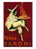 Pates Baroni Vintage Poster - Europe