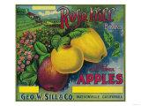 Rose Hill Apple Crate Label - Watsonville  CA