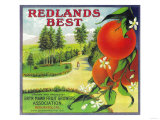 Redlands Best Orange Label - Redlands  CA