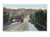 Viaduct View of Center Street - Pocatello  ID