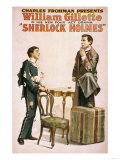 Sherlock Holmes Theatrical Play Poster No3