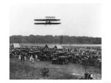 Orville Wright and Lahm in Record Flight Photograph - Fort Meyer  VA