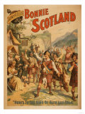 Sidney R Ellis' Bonnie Scotland Scottish Play Poster No4