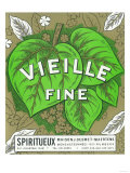 Vieille Fine Wine Label - Europe