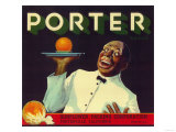 Porter Orange Label - Porterville  CA