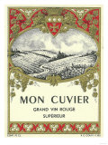 Mon Cuvier Wine Label - Europe