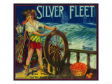 Silver Fleet Orange Label - Mentone  CA