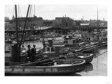 San Francisco  CA View of Fisherman's Wharf Photograph - San Francisco  CA