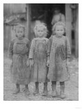 Oyster Shucker Girls in South Carolina Photograph - Port Roy  SC