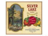 Silver Lake Orange Label - Lemon Cove  CA