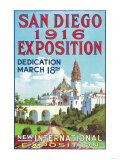 San Diego International Exposition Poster - San Diego  CA
