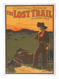 The Lost Trail - Comedy Drama Western Life Poster