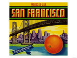 San Francisco Orange Label - San Francisco  CA